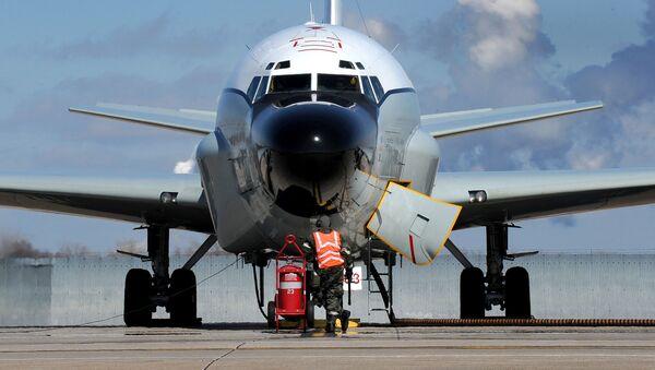 Amerykański samolot RC-135V/W Rivet Joint. - Sputnik Polska