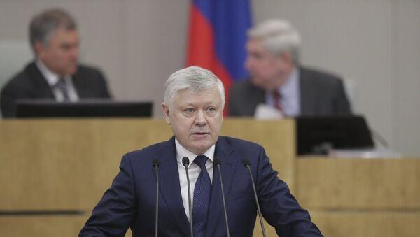 Deputowany Wasilij Piskarew - Sputnik Polska