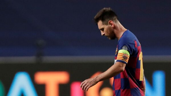 Lionel Messi - Sputnik Polska