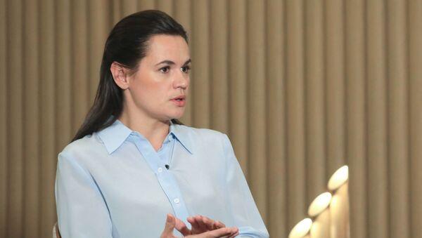 Była kandydatka na prezydenta Białorusi Swiatłana Cichanouska - Sputnik Polska