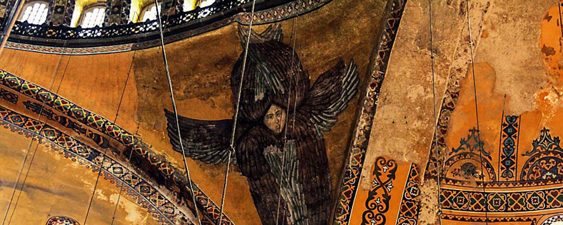 Mozaiki w Hagii Sophii w Stambule. - Sputnik Polska, 1920, 27.08.2020
