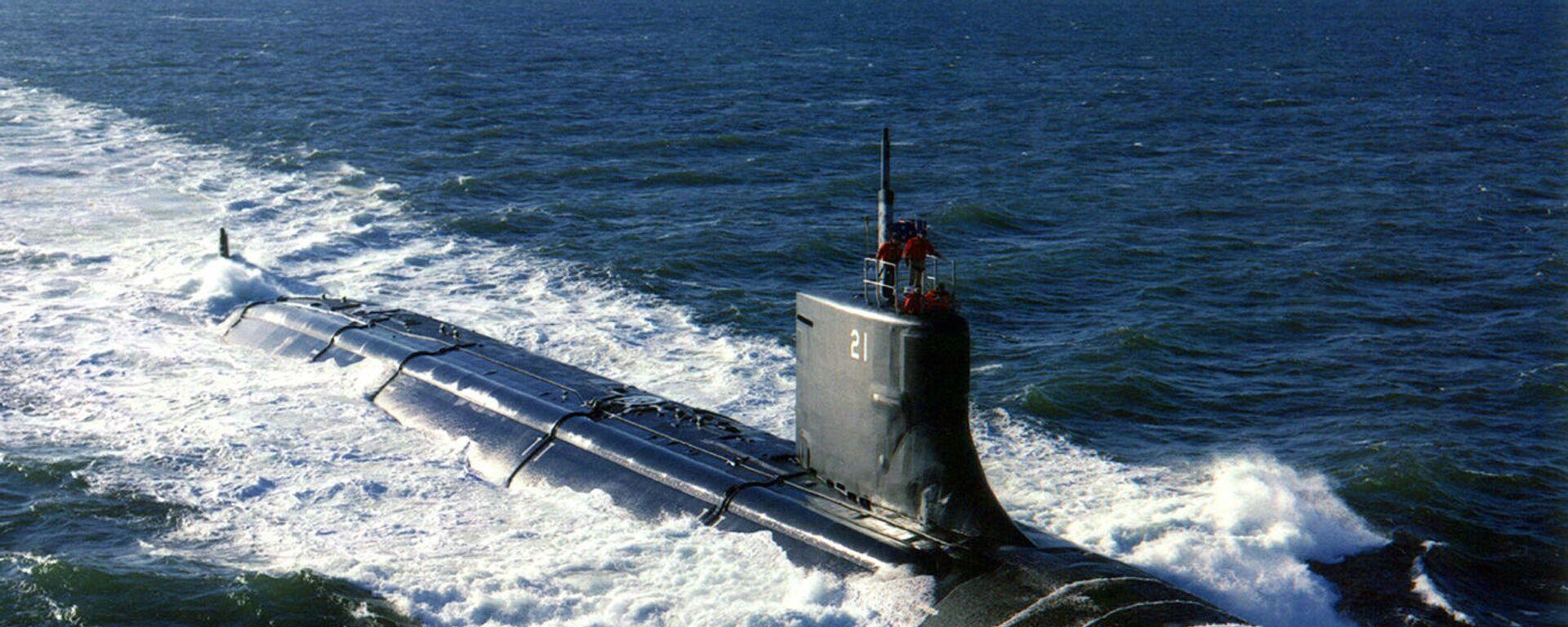 Okręt podwodny Seawolf (SSN 21) - Sputnik Polska, 1920, 07.10.2021