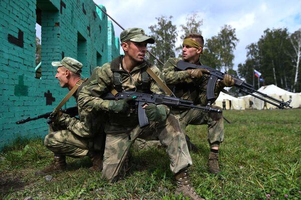 Białoruscy żołnierze na igrzyskach wojskowych ARMIA 2020 - Sputnik Polska