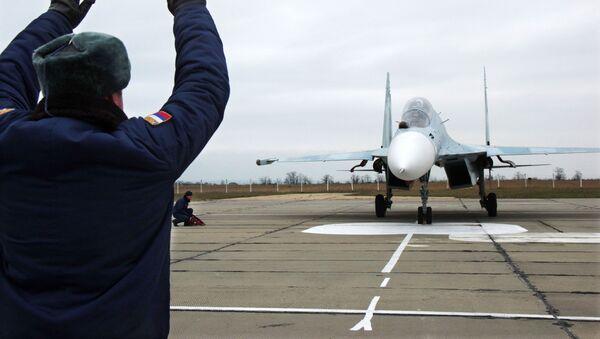 Rosyjski myśliwiec Su-27. - Sputnik Polska