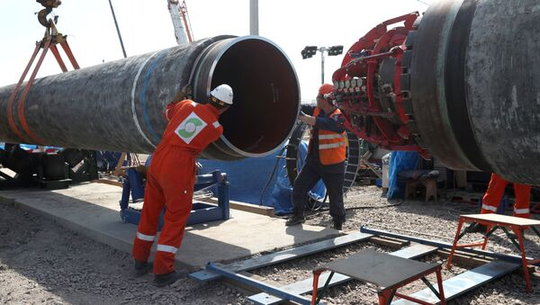Budowa gazociągu Nord Stream 2 w Kingisepp, Rosja - Sputnik Polska