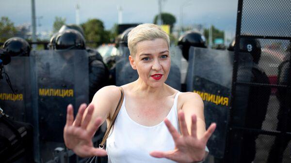 Białoruska opozycjonistka Maria Kolesnikowa - Sputnik Polska