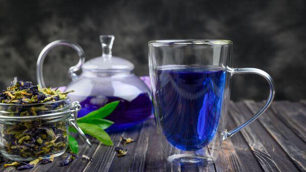 Niebieska herbata - Sputnik Polska