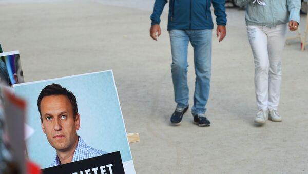 Aleksiej Nawalny w Berlinie - Sputnik Polska