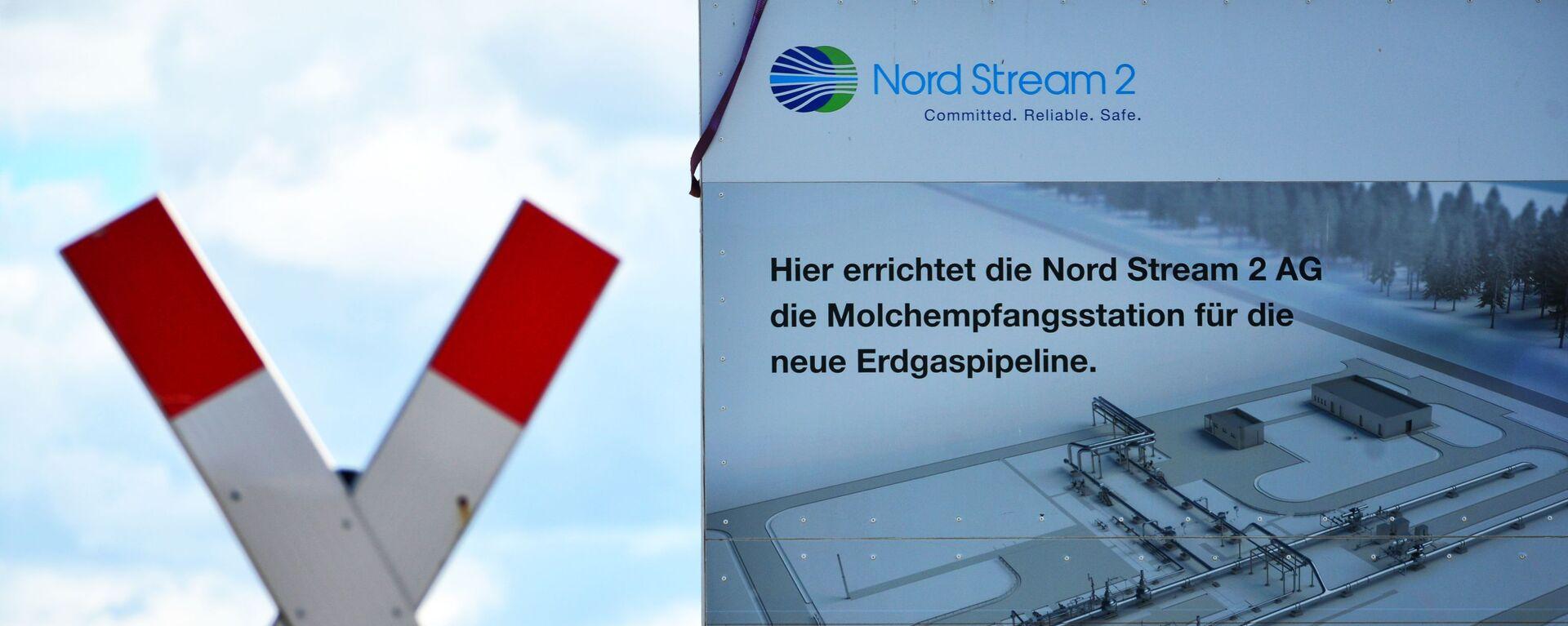 Budowa gazociągu Nord Stream 2 w Niemczech - Sputnik Polska, 1920, 29.10.2020