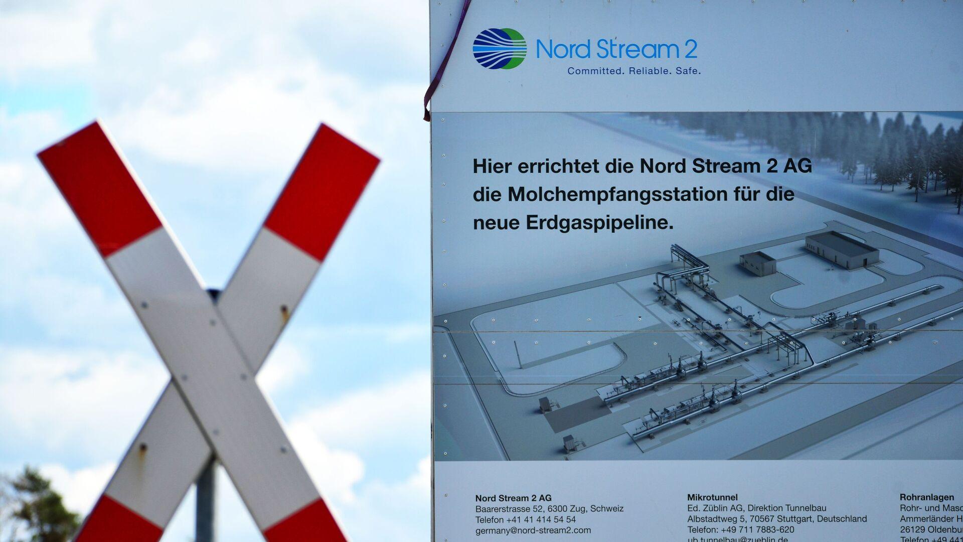 Budowa gazociągu Nord Stream 2 w Niemczech - Sputnik Polska, 1920, 01.03.2021