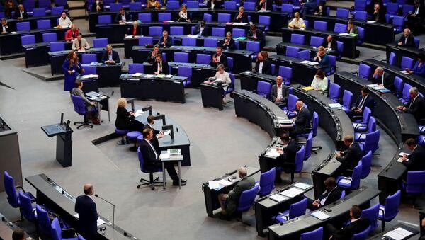 Posiedzenie Bundestagu - Sputnik Polska