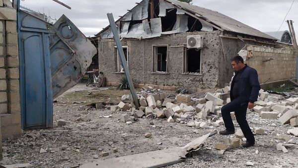 Konflikt zbrojny w Górskim Karabachu - Sputnik Polska