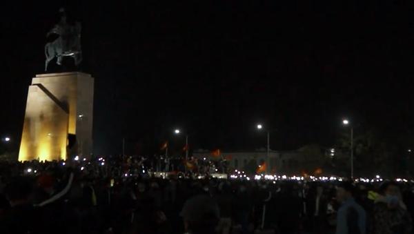 Protesty w Biszkeku - Sputnik Polska