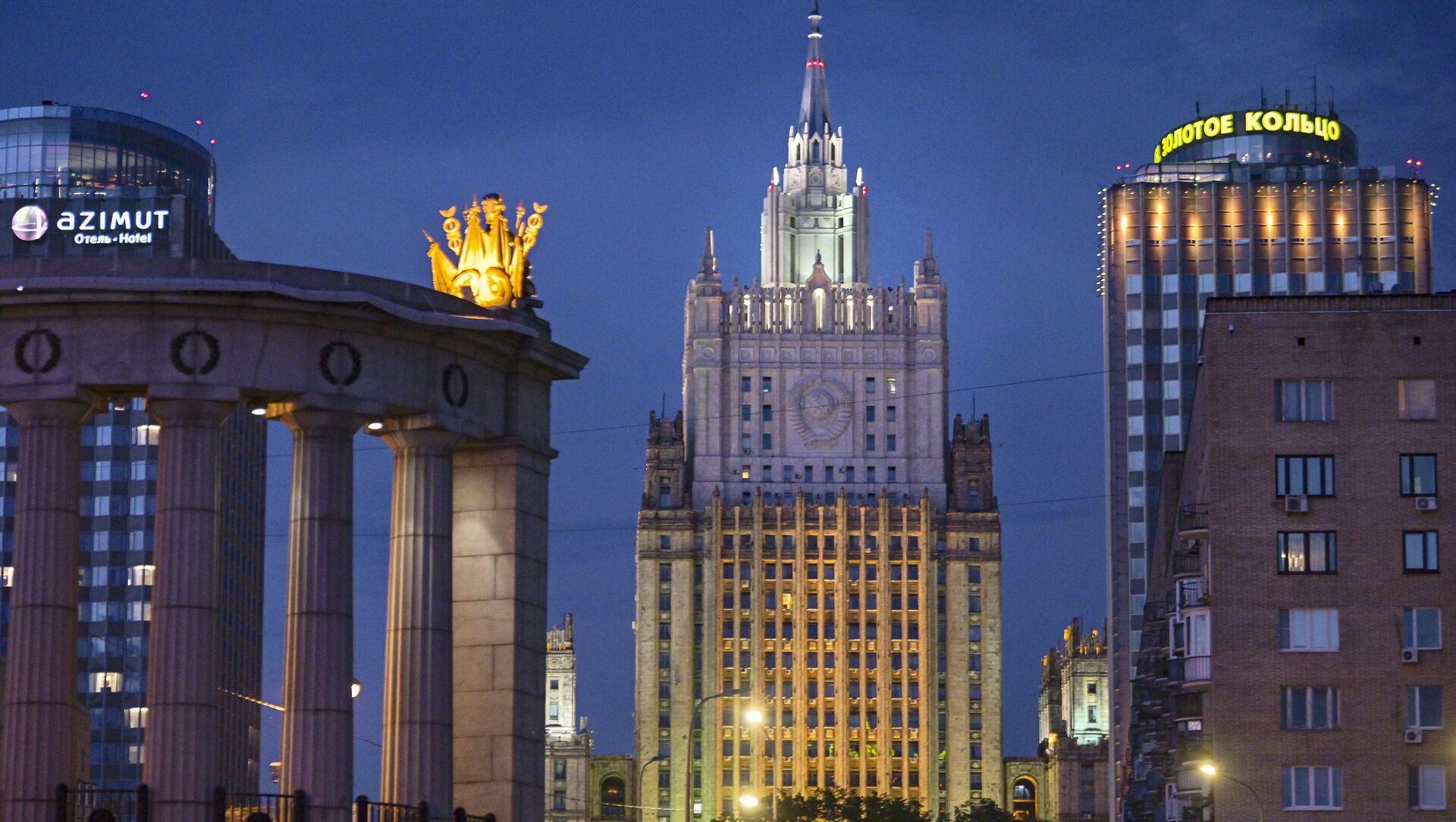 Budynek Ministerstwa Spraw Zagranicznych Federacji Rosyjskiej - Sputnik Polska, 1920, 01.03.2021