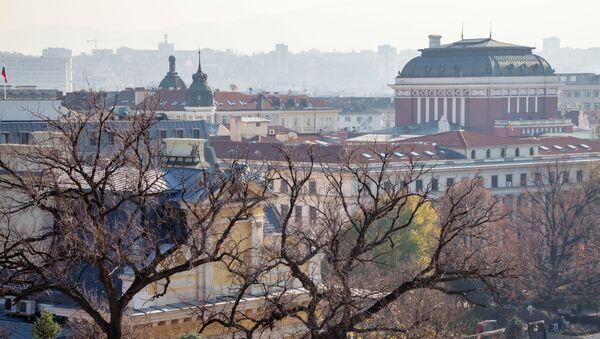 Panorama miasta Sofii w Bułgarii - Sputnik Polska