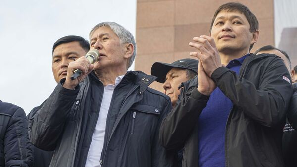 Były prezydent Kirgistanu Ałmazbek Atambajew. - Sputnik Polska