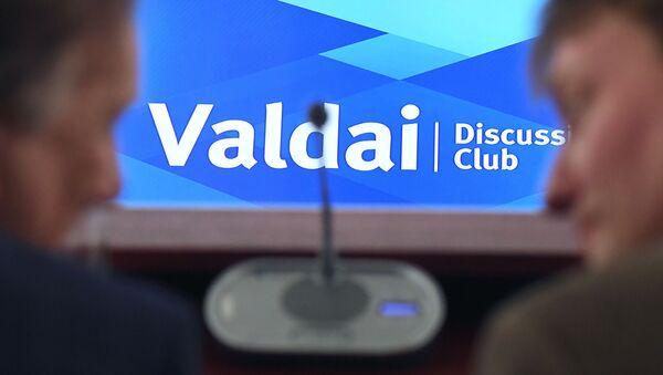 Na posidzeniu Wałdajskiego klubu dyskusyjnego - Sputnik Polska