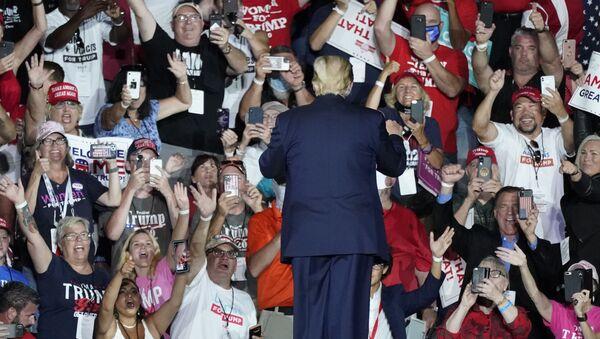 Zwolennicy Donalda Trumpa - Sputnik Polska
