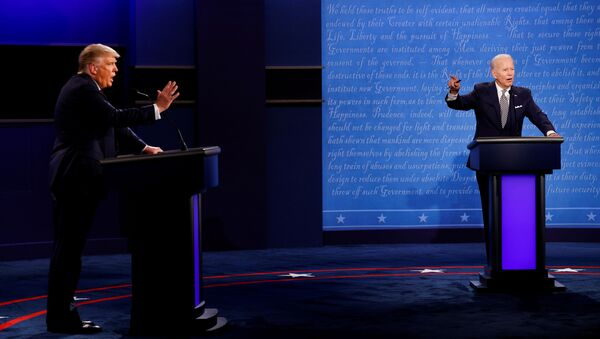 Debata Trump-Biden - Sputnik Polska