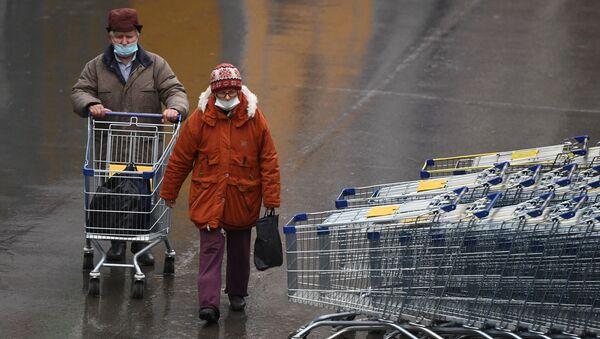 Klienci sklepu w maskach - Sputnik Polska