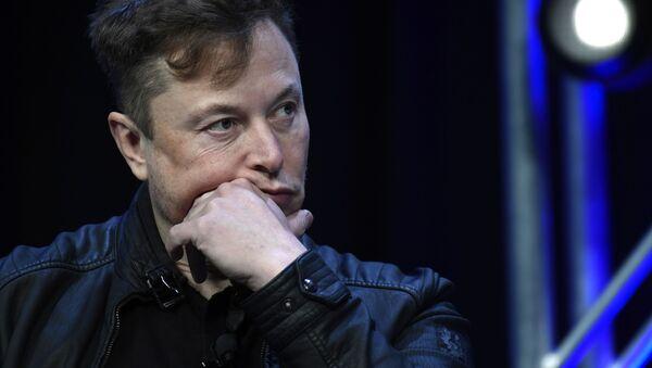 Amerykański przedsiębiorca, wynalazca, inżynier i miliarder Elon Musk - Sputnik Polska