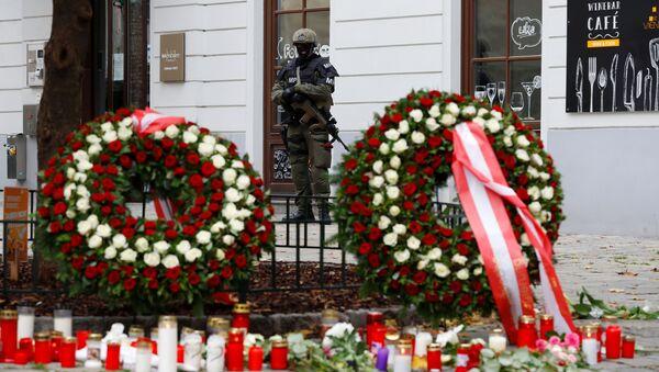 Miejsce strzelaniny w Wiedniu - Sputnik Polska