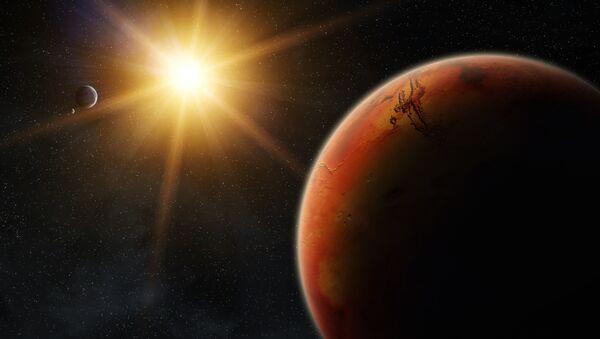 Mars o wschodzie słońca - Sputnik Polska