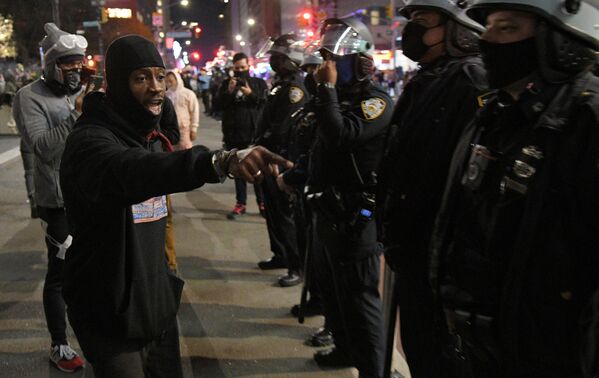 Marsz Black Lives Matter w Nowym Jorku - Sputnik Polska