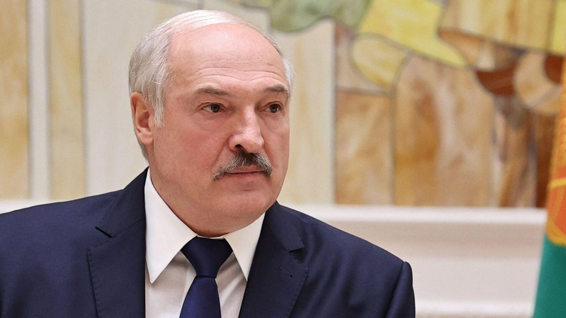 Prezydent Białorusi Alaksandr Łukaszenka - Sputnik Polska, 1920, 16.09.2021