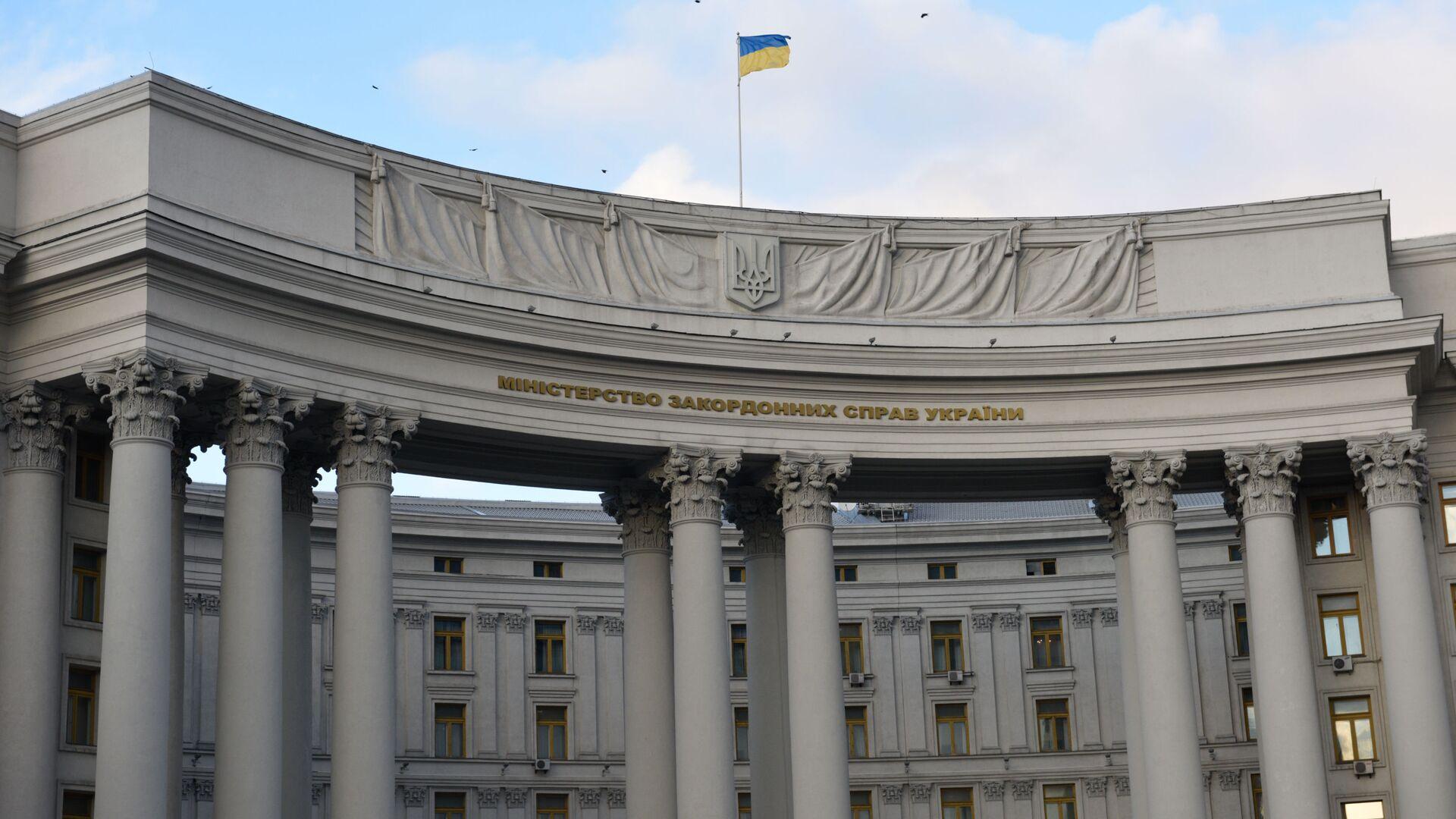 Budynek Ministerstwa Spraw Zagranicznych w Kijowie, Ukraina - Sputnik Polska, 1920, 28.07.2021
