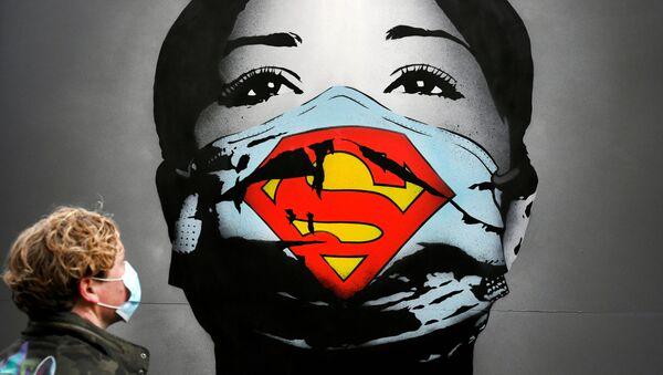 Graffiti w Amsterdamie - Sputnik Polska