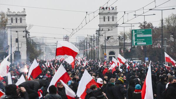 Marsz Niepodległości w Warszawie, 2020 - Sputnik Polska