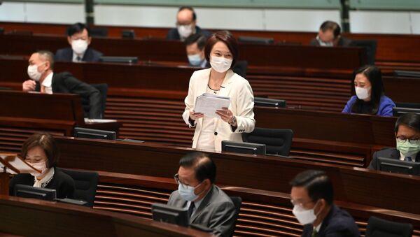 Rada Legislacyjna w Hongkongu - Sputnik Polska