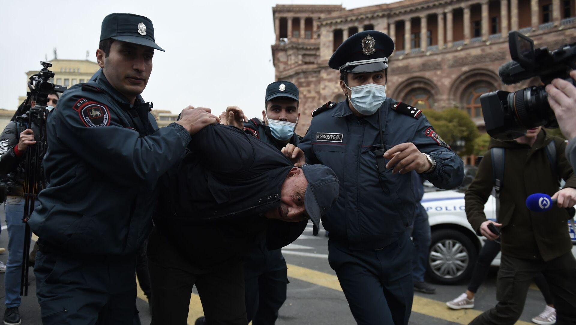Protesty w Armenii - Sputnik Polska, 1920, 01.03.2021