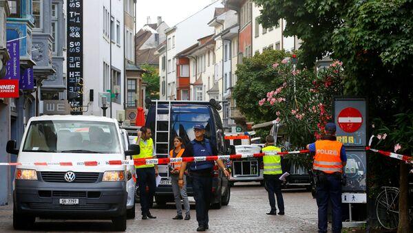 Szwajcarska policja - Sputnik Polska