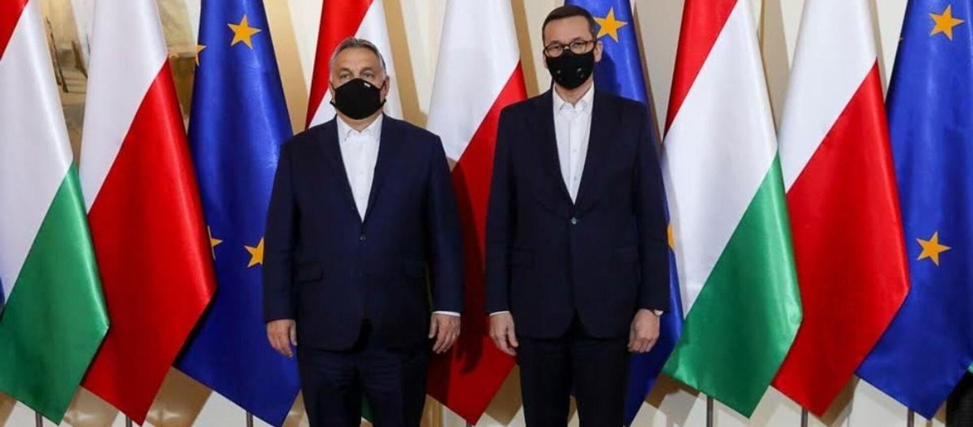 Spotkanie premiera Mateusza Morawieckiego z premierem Węgier Viktorem Orbanem - Sputnik Polska, 1920, 08.12.2020