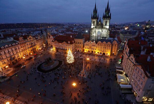 Świąteczna atmosfera w Pradze - Sputnik Polska