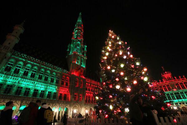 Grand Place w Brukseli - Sputnik Polska