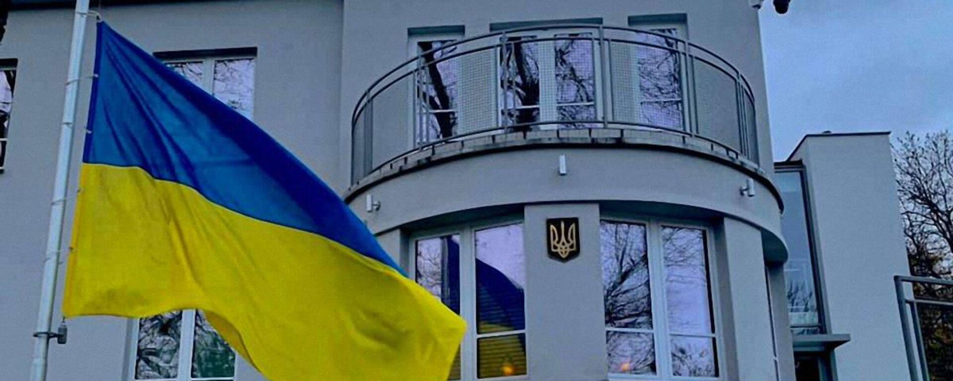 Budynek Ambasady Ukrainy w Polsce - Sputnik Polska, 1920, 20.03.2021