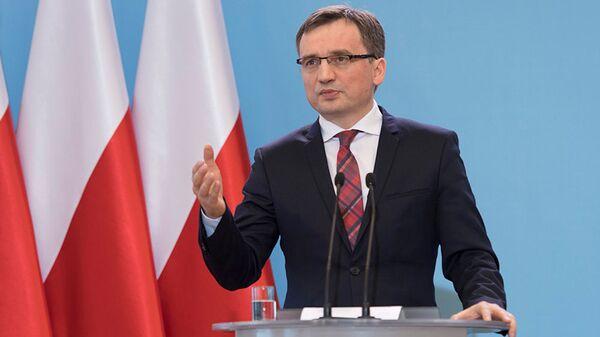 Zbigniew Ziobro - Sputnik Polska