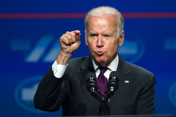 Wiceprezydent USA Joe Biden, 2016 rok - Sputnik Polska
