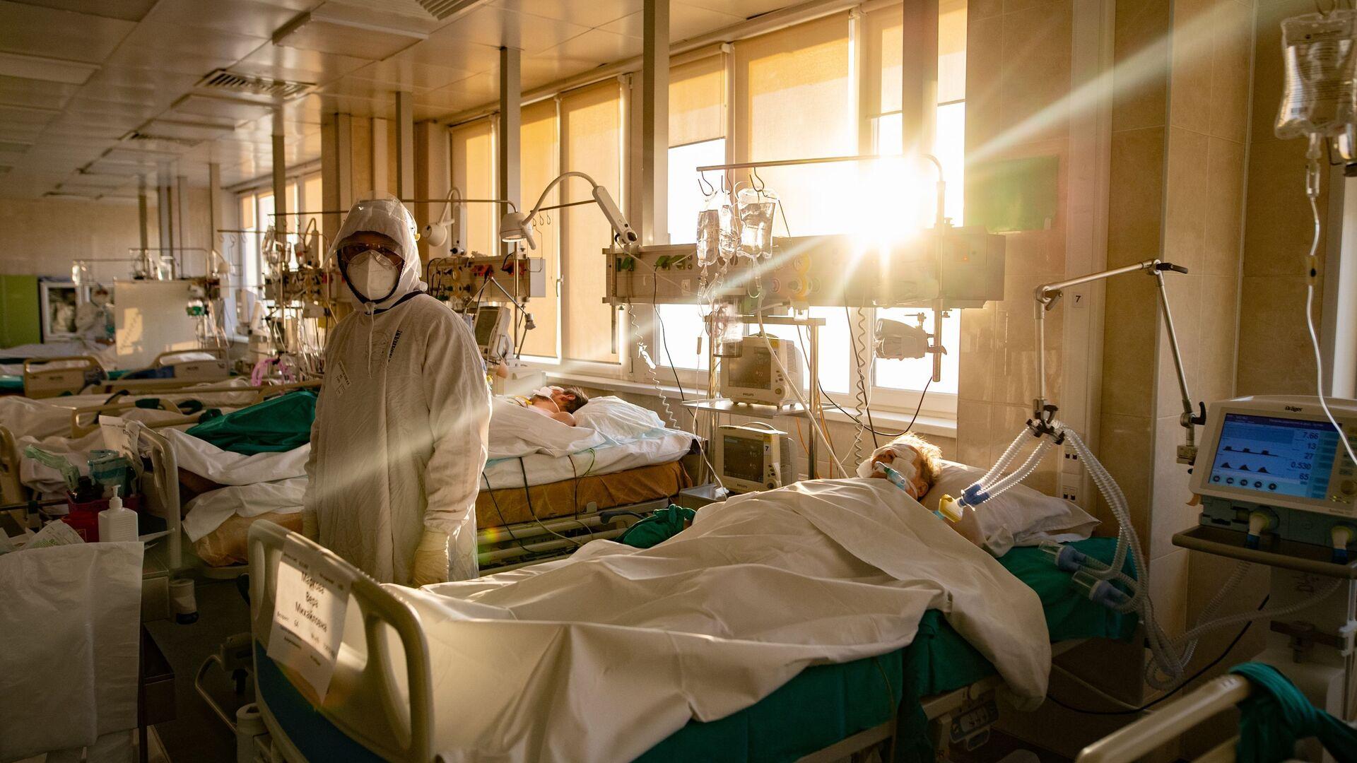 Koronawirus w szpitalu - Sputnik Polska, 1920, 07.03.2021