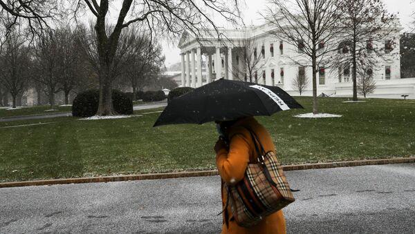 Biały Dom w Waszyngtonie. - Sputnik Polska
