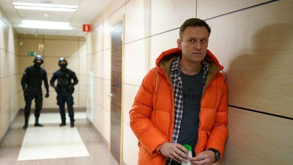 Rosyjski bloger i opozycjonista Aleksiej Nawalny - Sputnik Polska