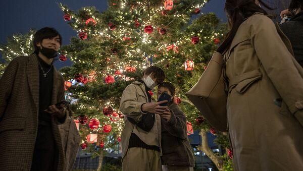 Boże Narodzenie w Tokio - Sputnik Polska