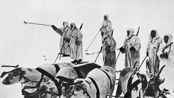 Żołnierze Armii Czerwonej - Sputnik Polska