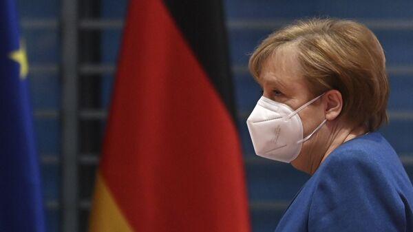 Kanclerz Niemiec Angela Merkel. - Sputnik Polska