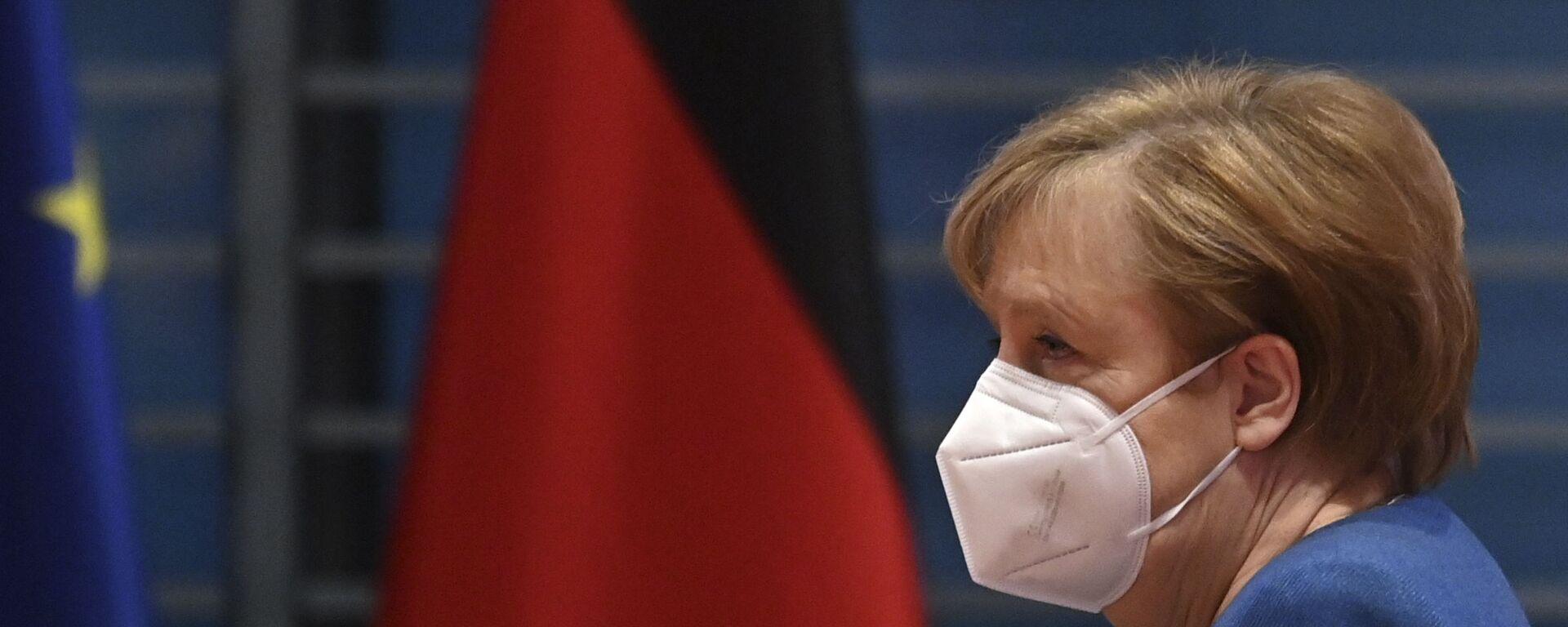 Kanclerz Niemiec Angela Merkel. - Sputnik Polska, 1920, 12.09.2021