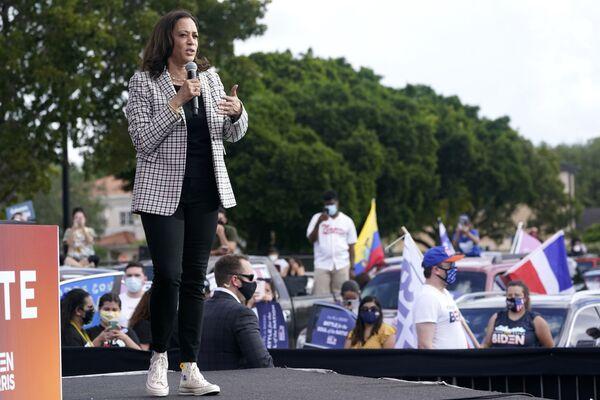 Kamala Harris w Miami, 2020 rok - Sputnik Polska