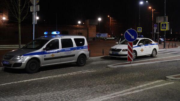 Policja w Kaliningradzie - Sputnik Polska